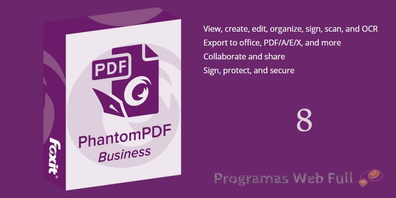 Foxit PhantomPDF Business 8