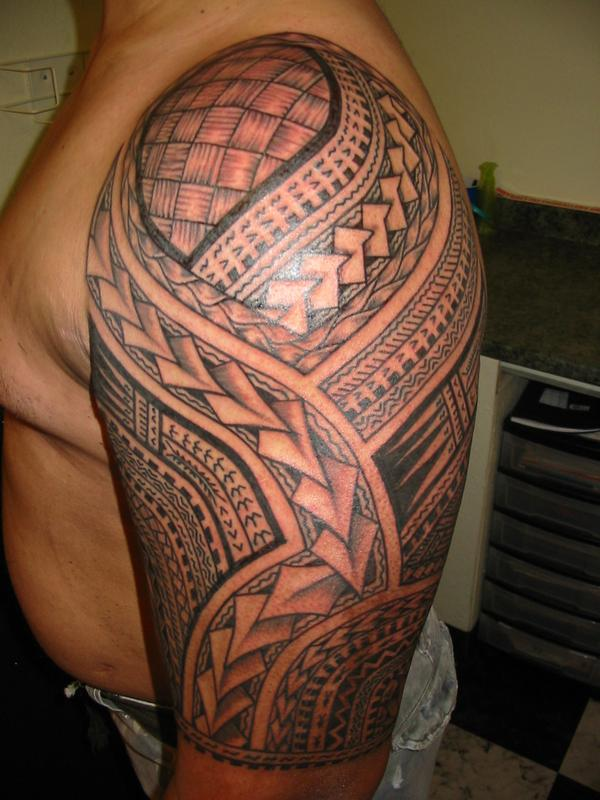 samoan tattoo design idea images pictures photos shoulder (56)