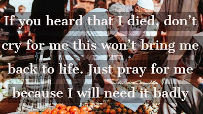 islamic sayings about death quotes