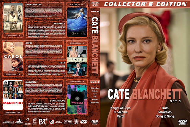 Cate Blanchett Collection Set 5 (Thin Spine) DVD Cover