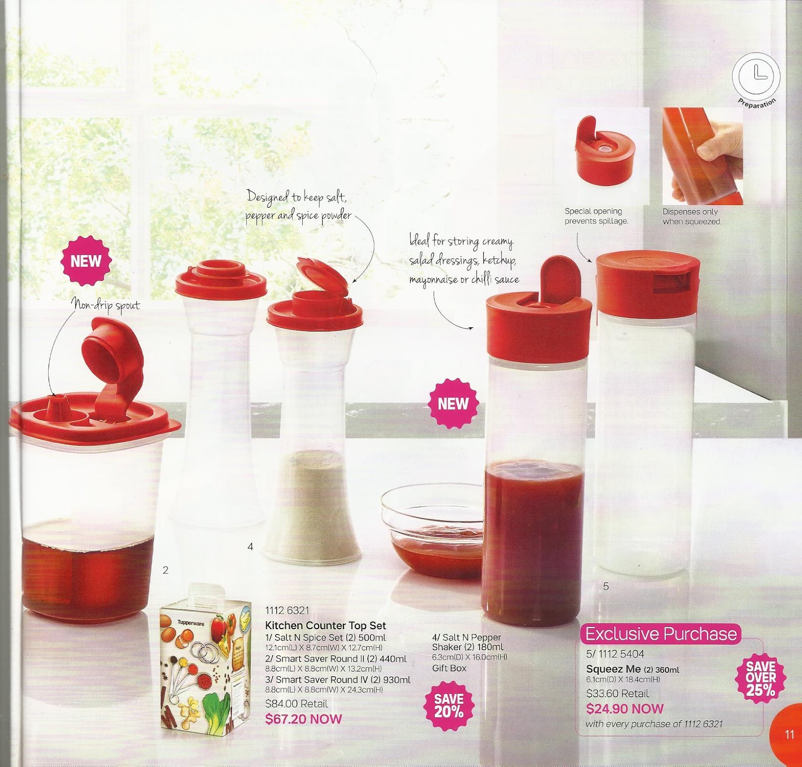 share the gift tupperware catalogue 1st july 12th august 2016. Black Bedroom Furniture Sets. Home Design Ideas