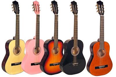 Các loại đàn guitar thông dụng hiện nay