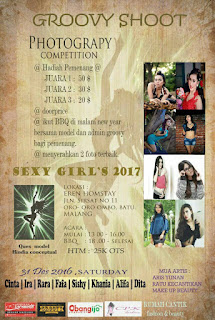 Lomba Fotografi Malang Desember 2016 ( Groovy Competition )