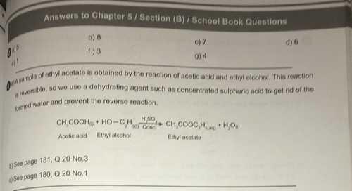 إجابات كتاب المدرسة كيمياء لغات Chemistry للصف الثالث الثانوى