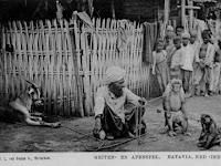 Asal Usul dan Sejarah Atraksi Topeng Monyet di Indonesia