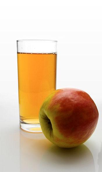 jugo de manzana