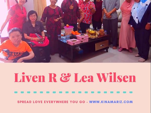 Liven R dan Lea Wilsen Undang Penulis Sumut Rayakan Momen Persahabatan di Tahun Baru Imlek 2019