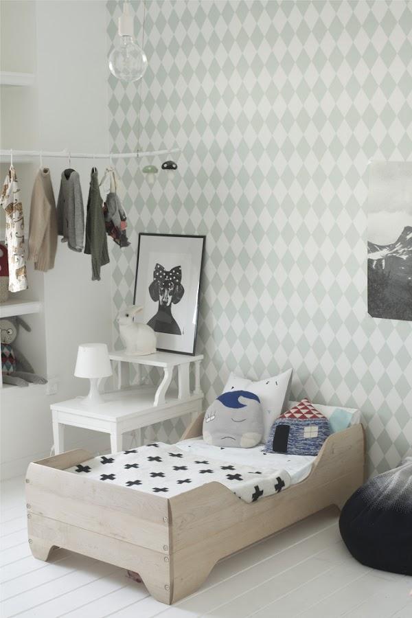 dormitorio infantil nordico