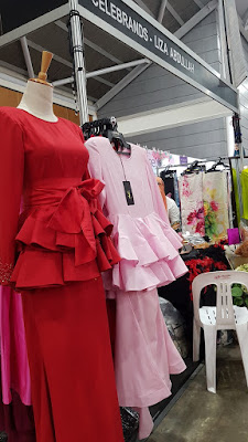 Celebrity Liza Abdullah offered dresses incorporating peplum and ruffle details.