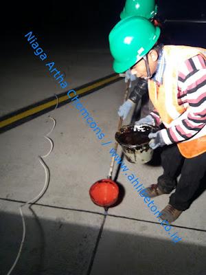 Proses Pengaplikasian Material Sealant