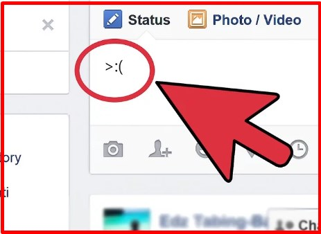 how to make an emoji heart on facebook