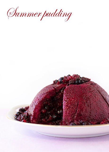 Featured Recipe | Summer Pudding from Pizzarossa #SecretRecipeClub #pudding #currants #British #summer