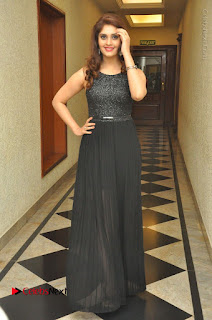 Actress Surabhi Stills in Black Long Dress at turodu Audio Launch  0092.JPG