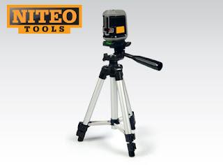 Poziomica laserowa samopoziomująca Niteo Tools z Biedronki
