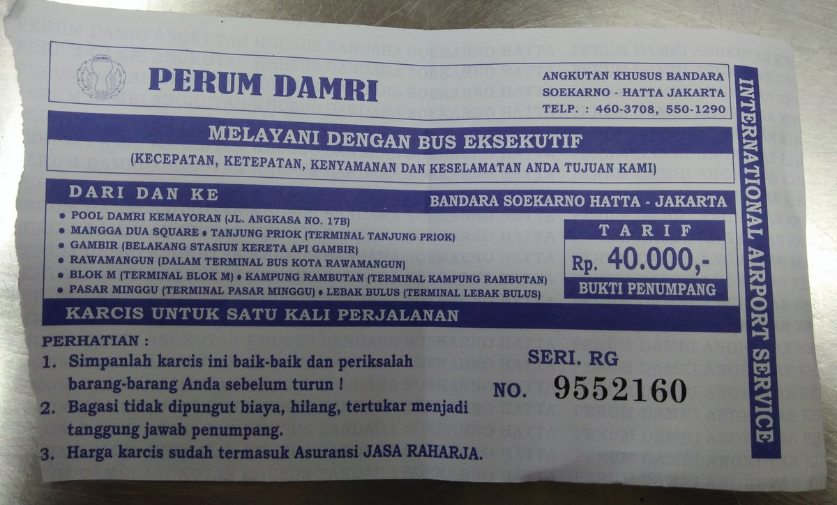 Jadwal Lengkap Bus Damri Dari Dan Ke Bandara Soekarno Hatta Serta Tempat Keberangkatan Denianggoleta