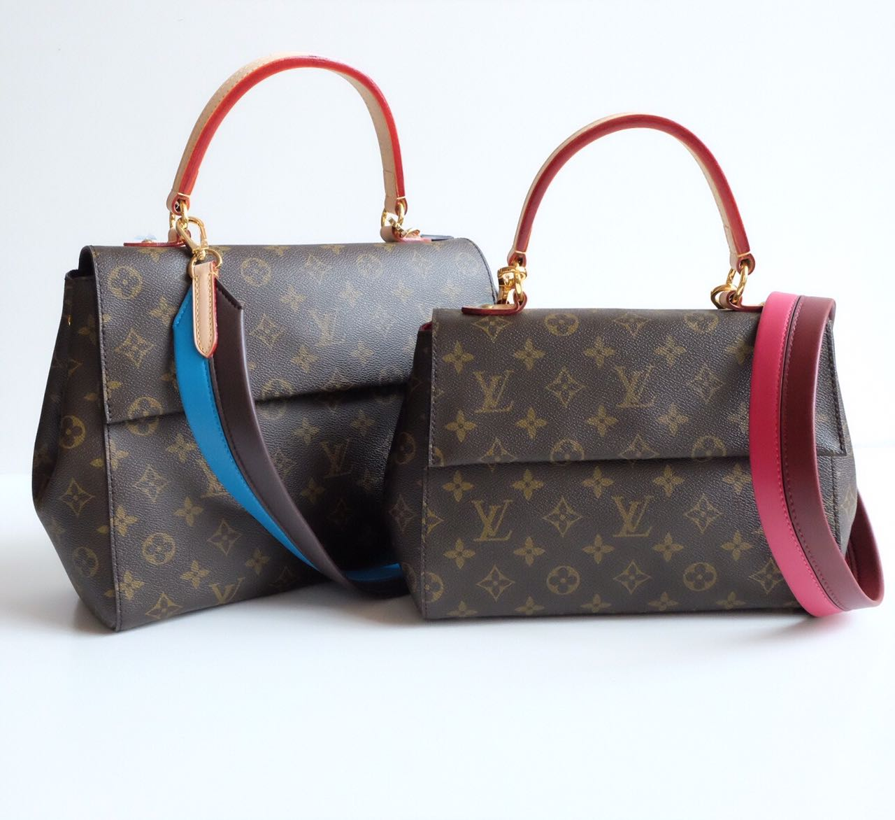 Kinda Kollection  Louis Vuitton Clunny Monogram Mirror Original Leather  Bag..Part 4 9965220bfe