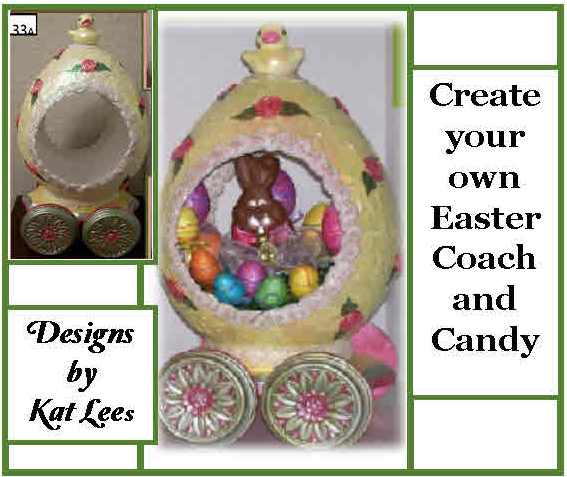 CREATE YOUR OWN EASTER COACH AND CANDY