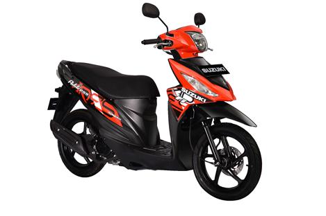 Spesifikasi, Harga dan Fitur New Suzuki Address FI Terbaru 2018