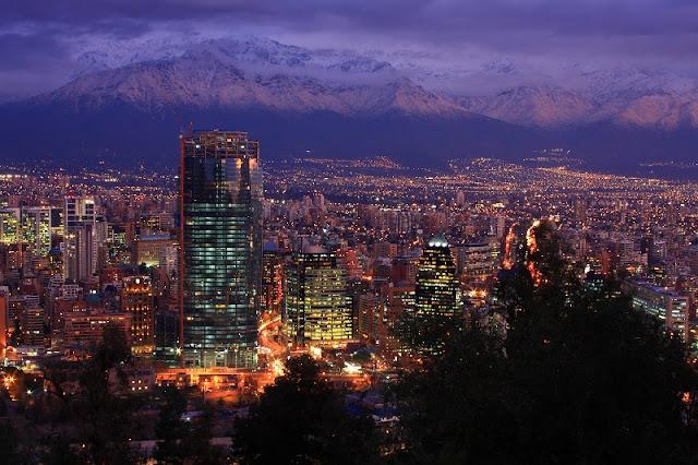 Santiago do Chile em julho