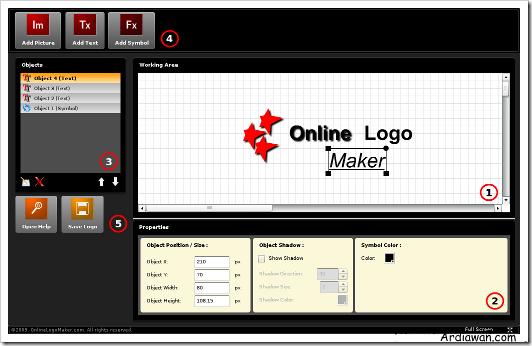 BUAT LOGO ONLINE  Gambar Logo