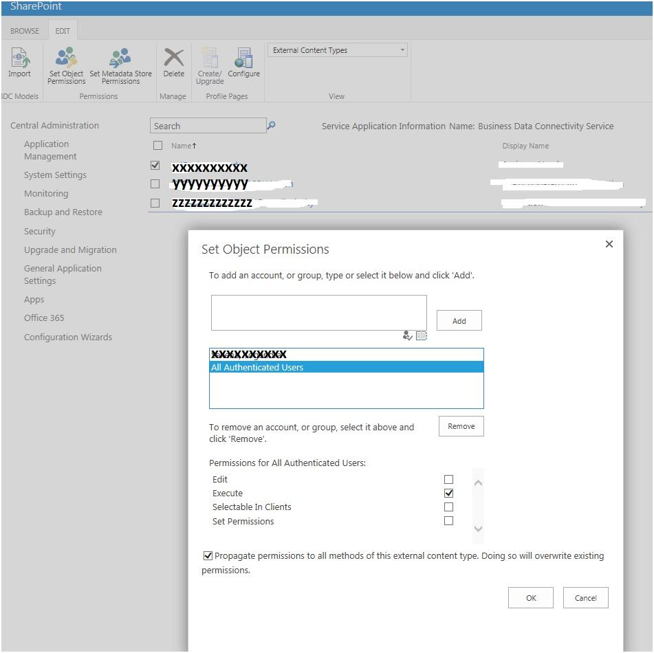 metadata store