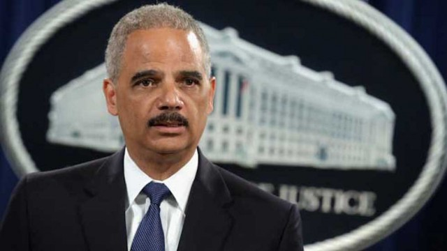 Eric H. Holder, Jr. was found in contempt of Congress and defends Mueller