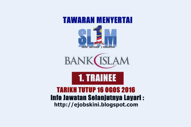 Tawaran Menyertai SL1M Bank Islam