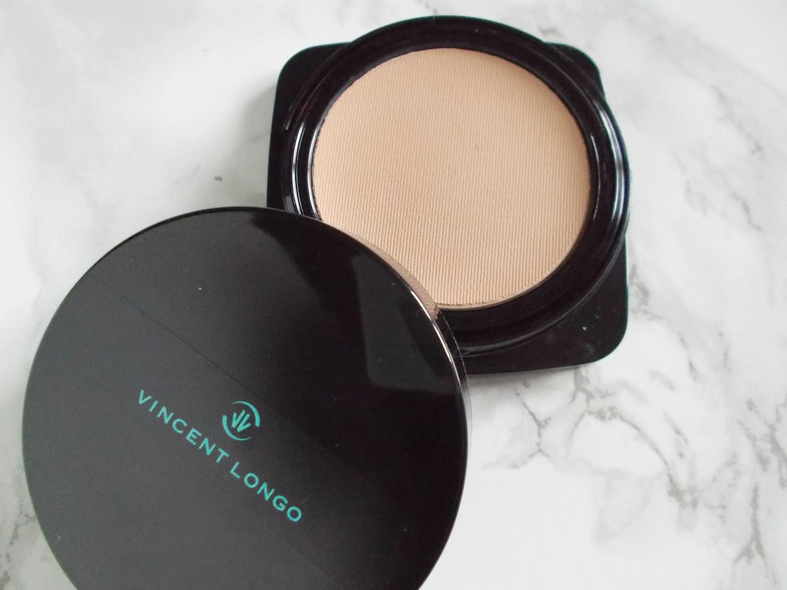 Vincent Longo water canvas creme to powder foundation porcelain review