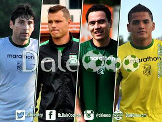 Oriente Petrolero - Ronald Raldes - Hugo Souza - Gualberto Mojica - Alberto Pinto - DaleOoo.com página Club Oriente Petrolero