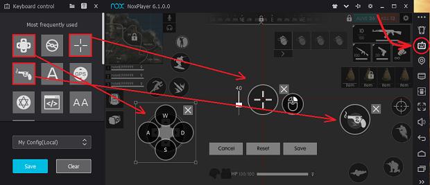 Cara Setting Controller Keyboard Free Fire di Nox Komputer