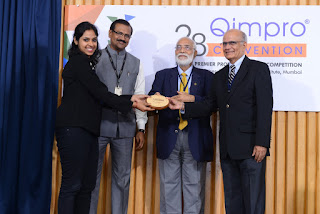 Ramya wins best presenter award