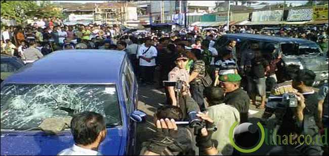 Sebut bentrokan karena provokasi bandar togel