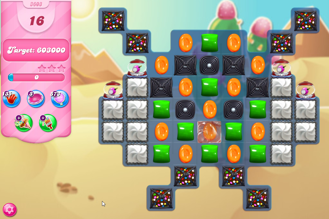 Candy Crush Saga level 3603