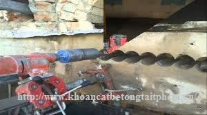 Khoan cắt bê tông tại huyện Thạnh Hóa