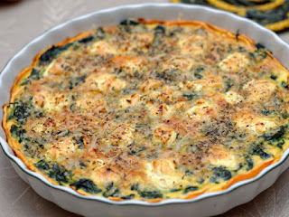 Quiche aux patates douces