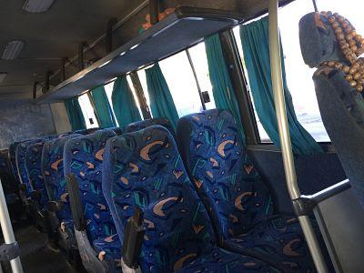 Autobús. Itaparica. Brasil