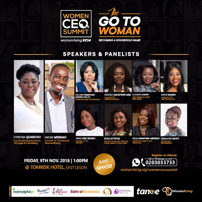 WomanRising unveils Speakers for the 2nd Women CEOs Summit