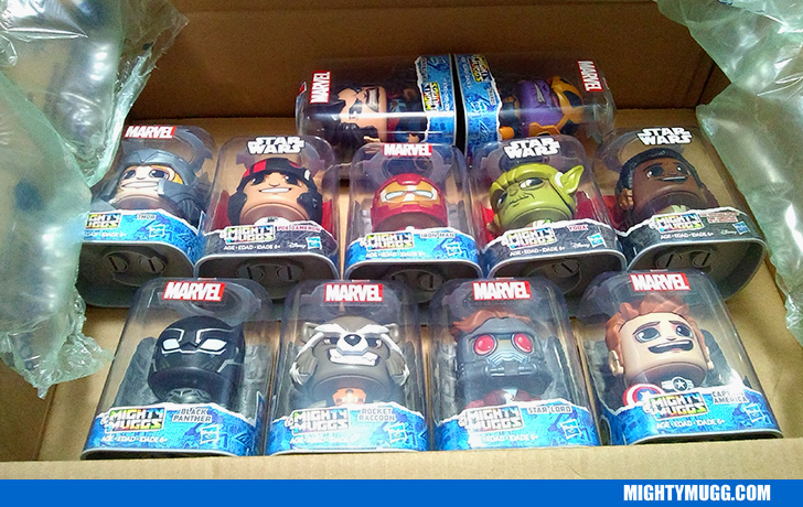 UNBOXING Mighty Muggs Massive Haul Of 2018 Marvel And Star Wars Waves 2 And 3 Collection Update