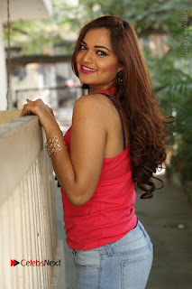 Tollywood Actress Ashwini Latest Stills in Ripped Jeans  0129.JPG