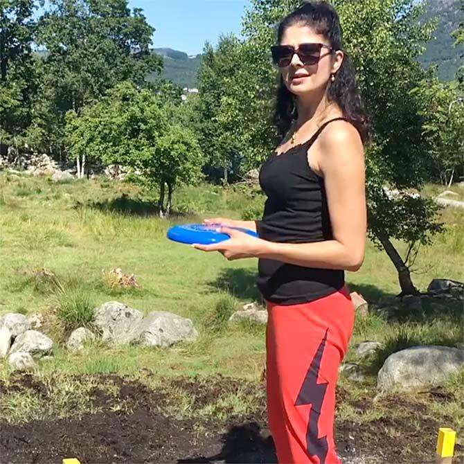 Pooja Batra's Awesome Shoot at Norway Holiday