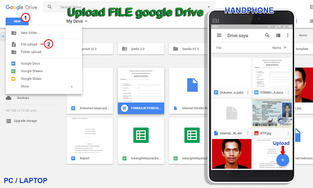 Upload File ke Google Drive