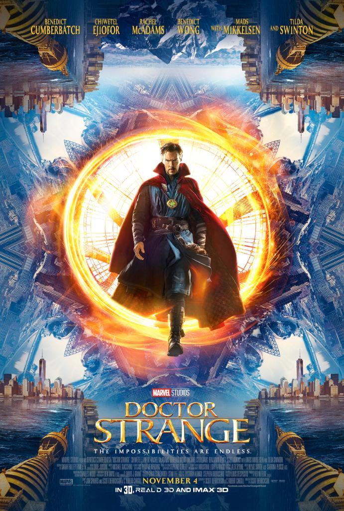 Nuevo tráiler de 'Doctor Strange' presentado en Comic-Con de San Diego