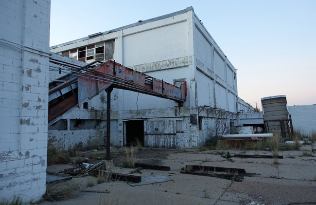 Abandoned Slaughterhouse and Meat Packing Plant in Nebraska