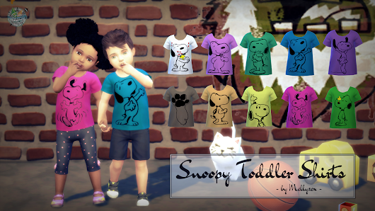Snoopy Toddler Shirts