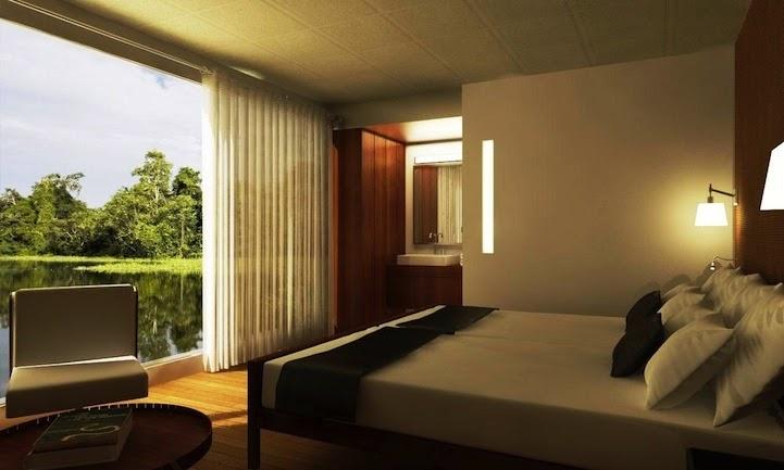 03-Cabin-Bedroom-Aqua-Expeditions-Five-Star-Hotel-Aria-Amazon-Floating-Architecture-www-designstack-co