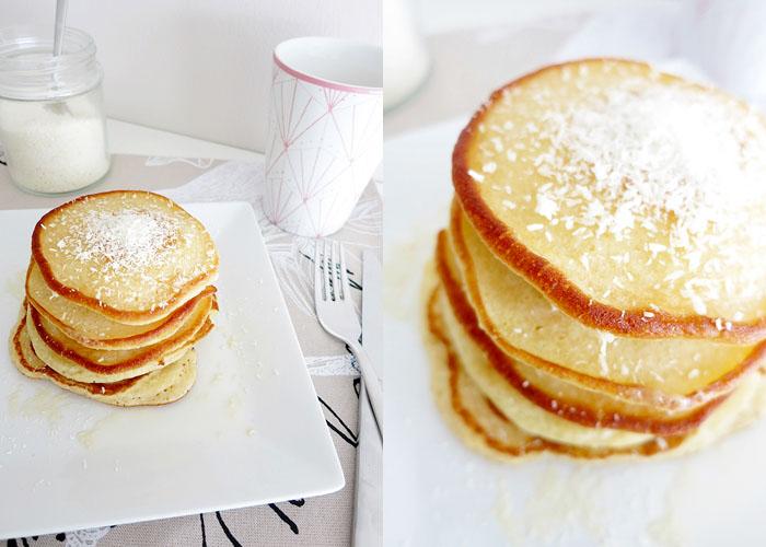 Batida de Coco Pancakes