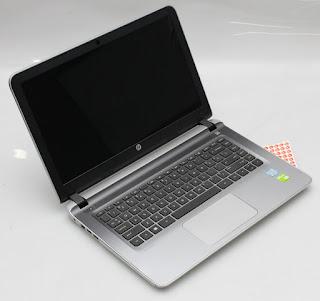 Jual HP 14-AB133TX - Laptop Gaming Bekas