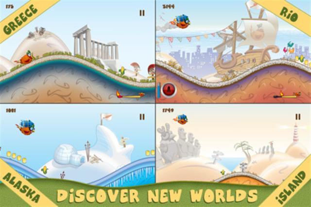 Blog Game: iOS Games Rocket Chicken (Fly Without Wings) (Free App Of