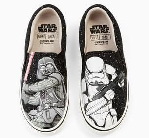 zapatillas star wars niños