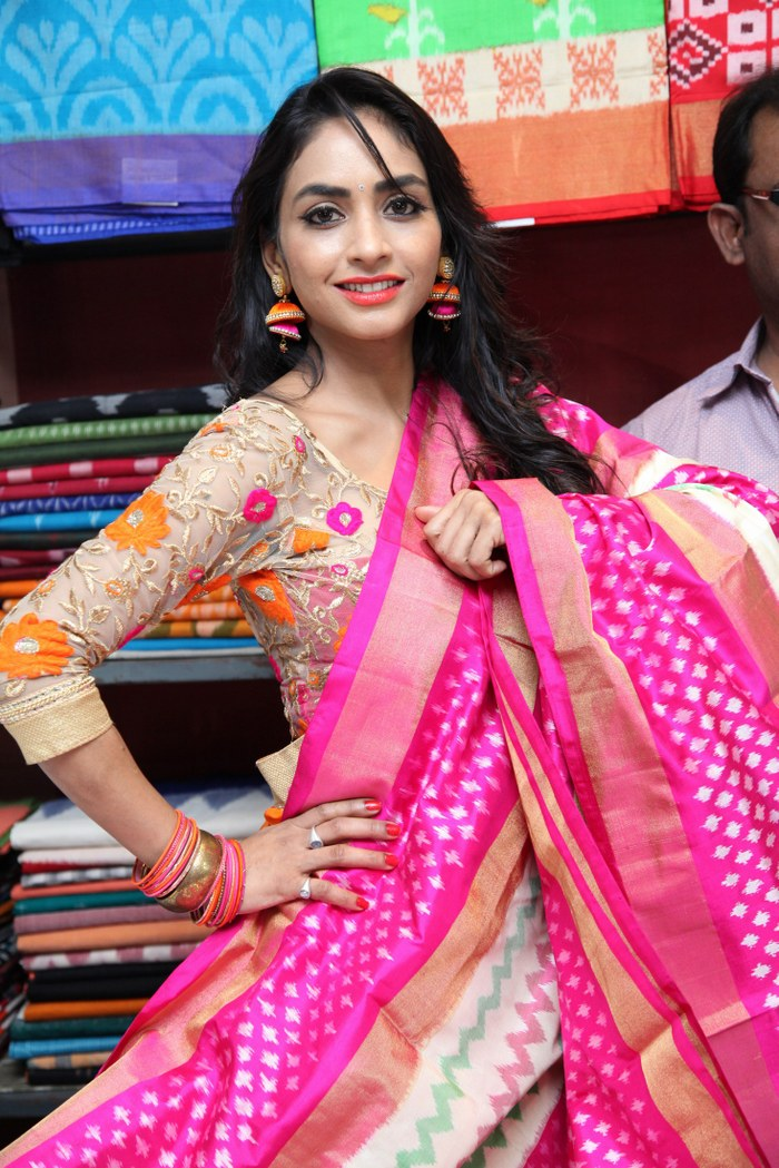 Pooja Launches Pochampally Mela IKAT@ECIL Stills
